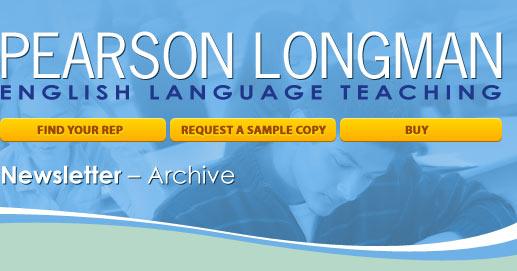 Pearson Longman's ESL Newsletter Archive