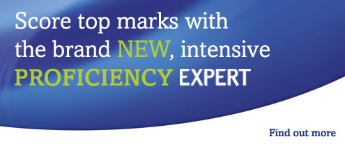 Score top marks with the brand NEW, intensive PROFICIENCY EXPERT