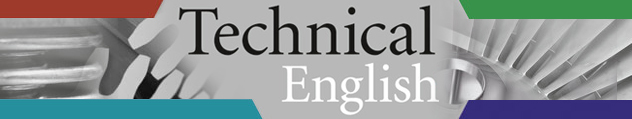 Technical English Banner